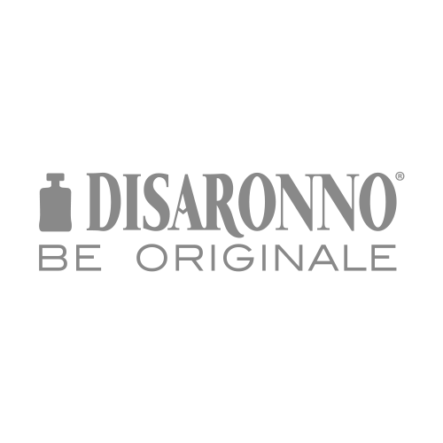 Disaronno Italian Liqueur Transparent Grey Logo