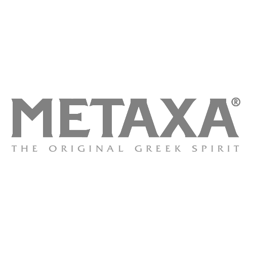 Metaxa Ouzo Transparent Grey Logo