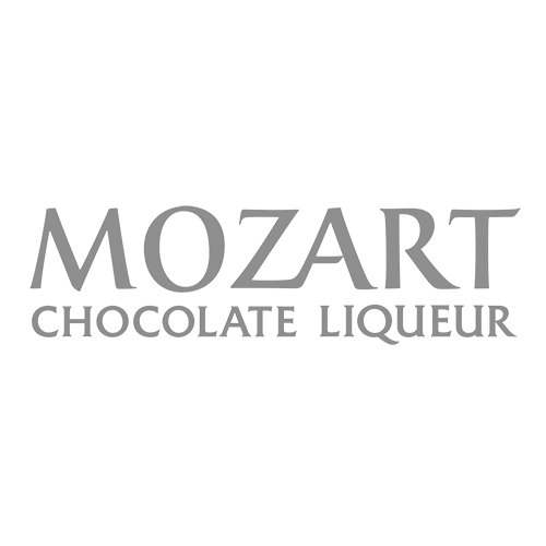 Mozart Chocolate Liqueur Transparent Grey Logo