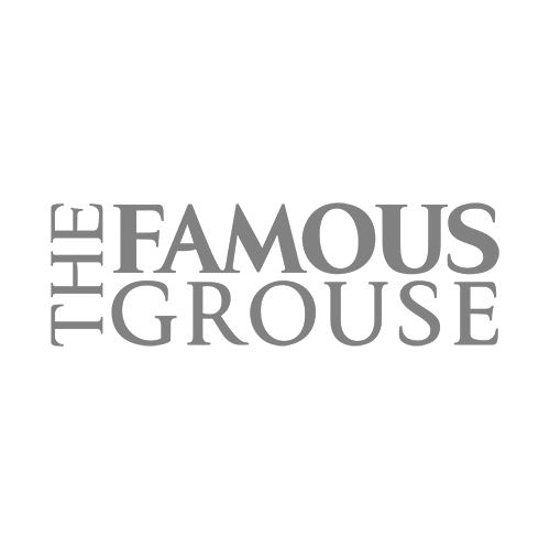 The Famous Grouse Blended Scotch Whiskey Transparent Grey Logo