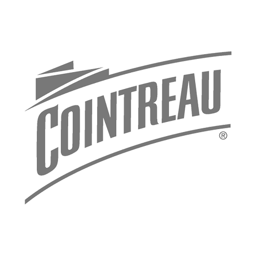 Cointreau Orange Liqueur Transparent Grey Logo