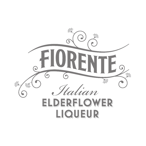 Fiorente Elderflower Liqueur Transparent Grey Logo