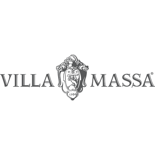 Villa Massa Limoncello Transparent Grey Logo