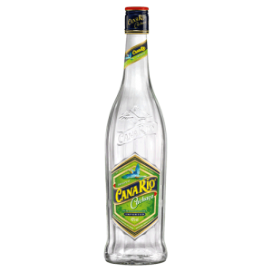 coloured image of Cana Rio Cachaca bottle on transparent background