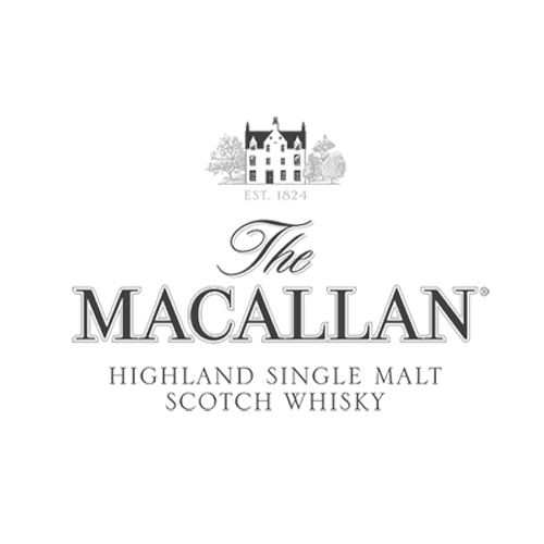 The Macallan Scotch Whiskey Transparent Grey Logo