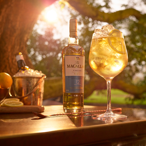 The MAcallan Copa cocktail