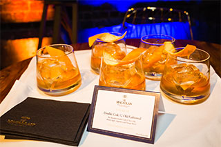 Toast The Macallan Sydney Event cocktails