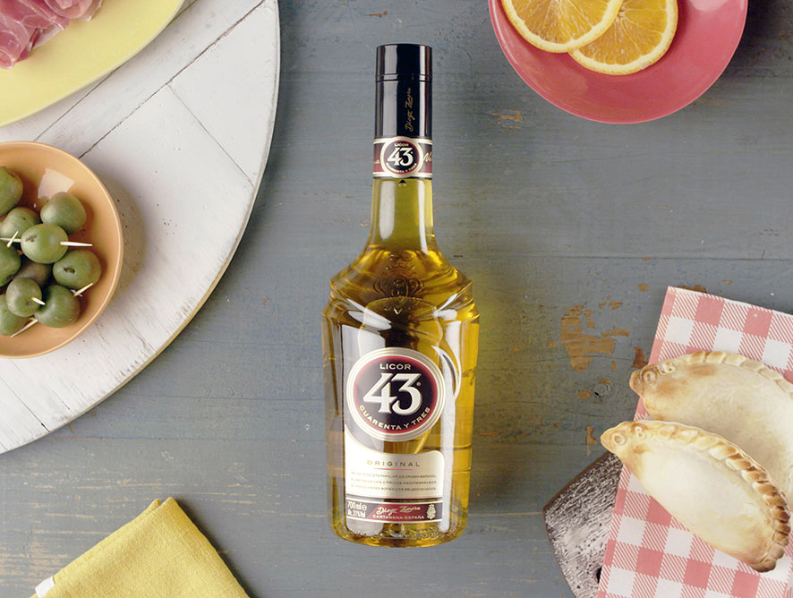 Licor 43 bottle