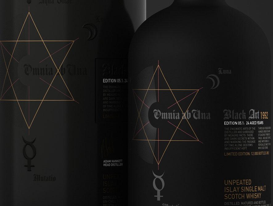 The secret alchemy of the Bruichladdich spirit- Black Art 5