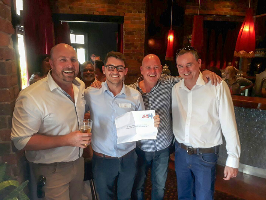 Spirits Platform's Casey Gray wins Award