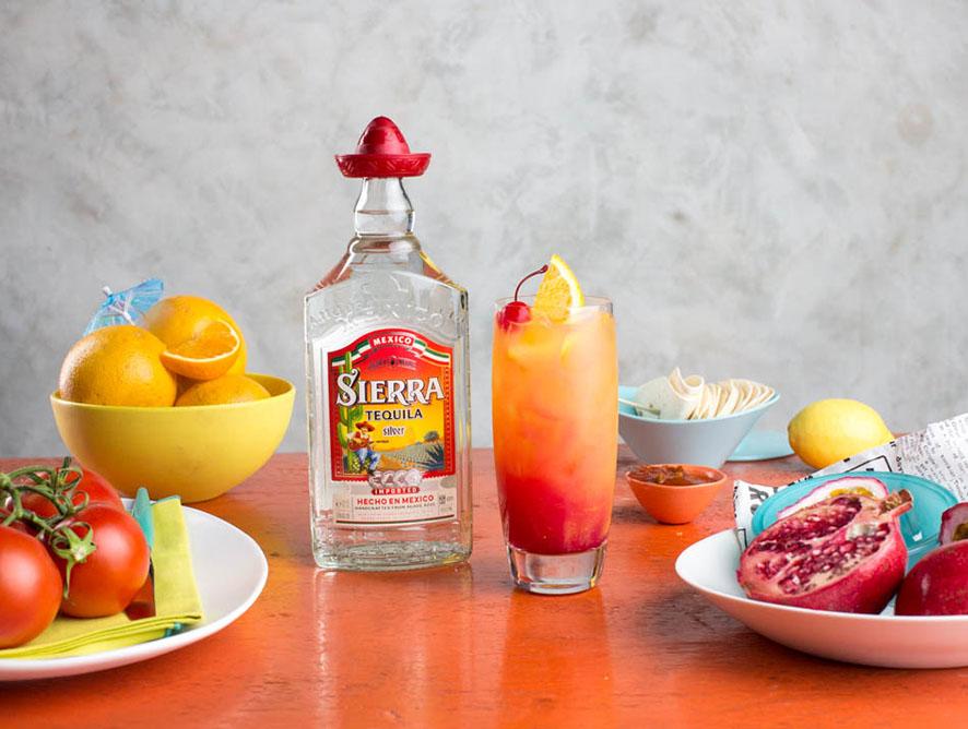 Sierra Silver Tequila Sunrise