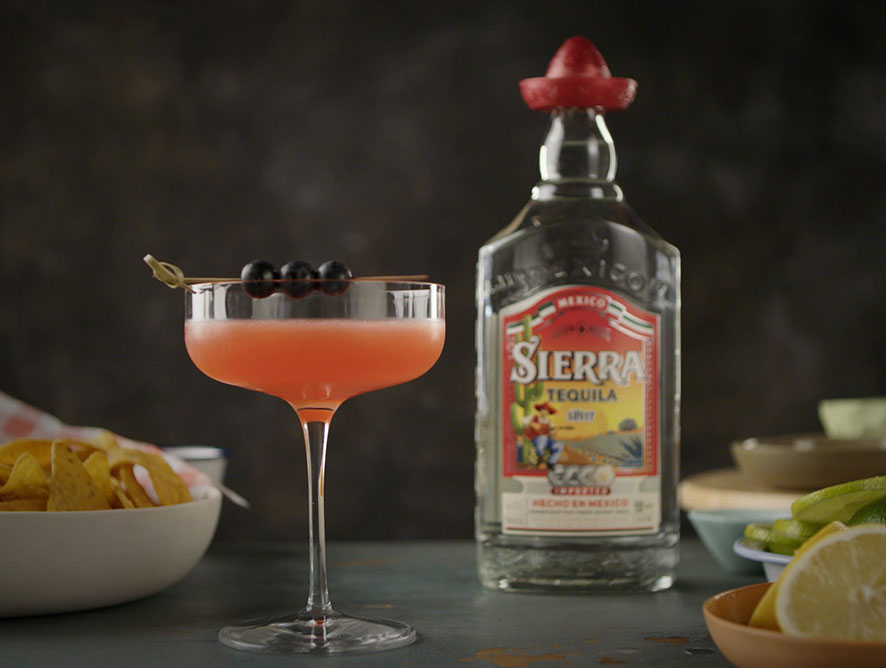 Sierra Berry Margarita Cocktail