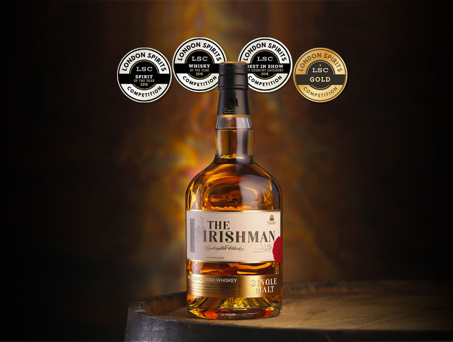 The Irishman Single Malt Whiskey Wins