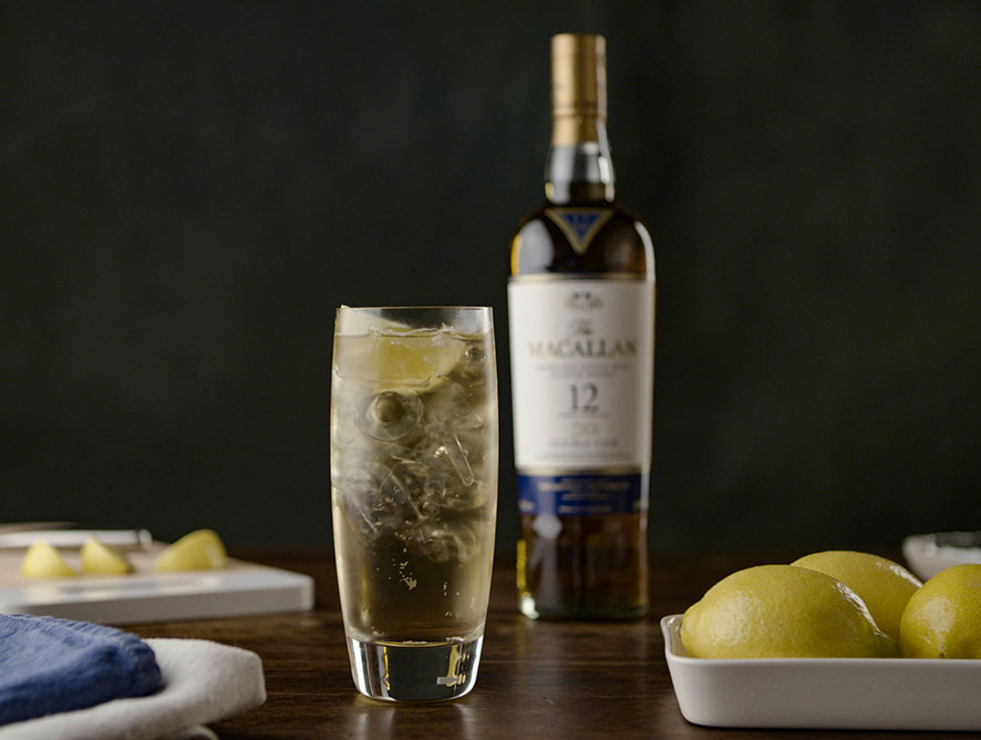 Macallan Highball Cocktail
