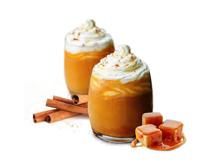 Mozart Chocolate Cream Pumpkin Spice Latte