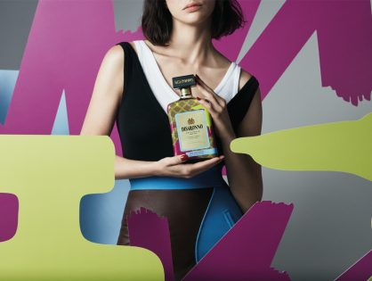 Disaronno Wears Trussardi Limited Edition