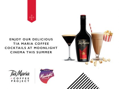 Tia Maria Partners with Moonlight Cinema