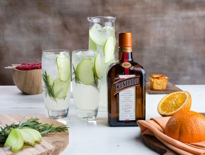 Cointreau Apple & Rosemary Fizz