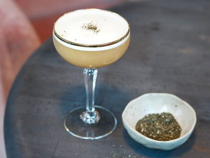 Martin Miller's Breakfast Tea Martini