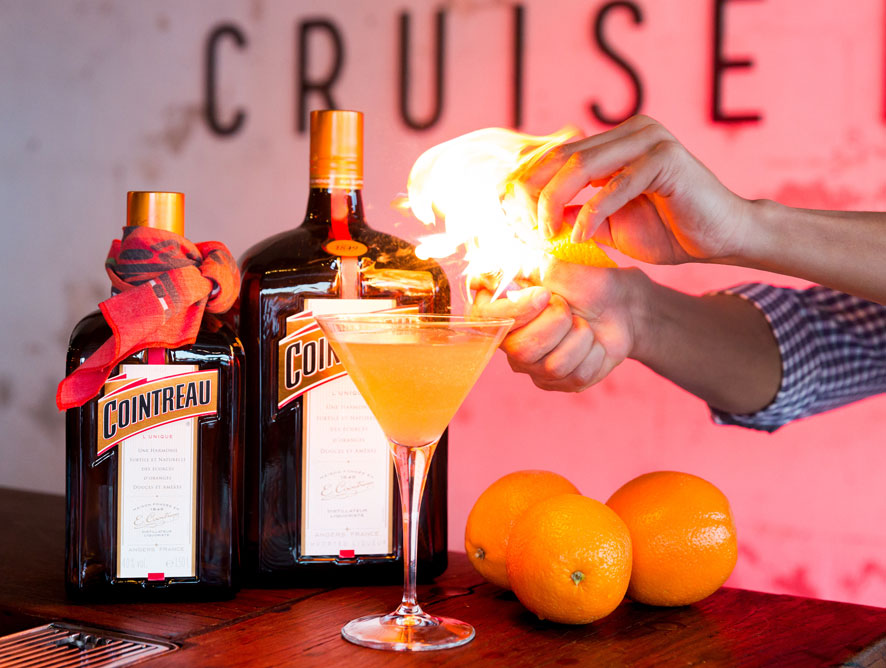 Cruise into Cruise Bar for Lights, Camera & Cointreau Cocktails