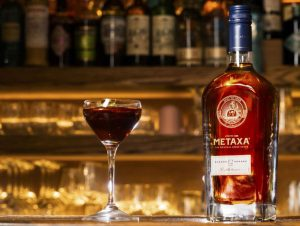 METAXA Greek Martini