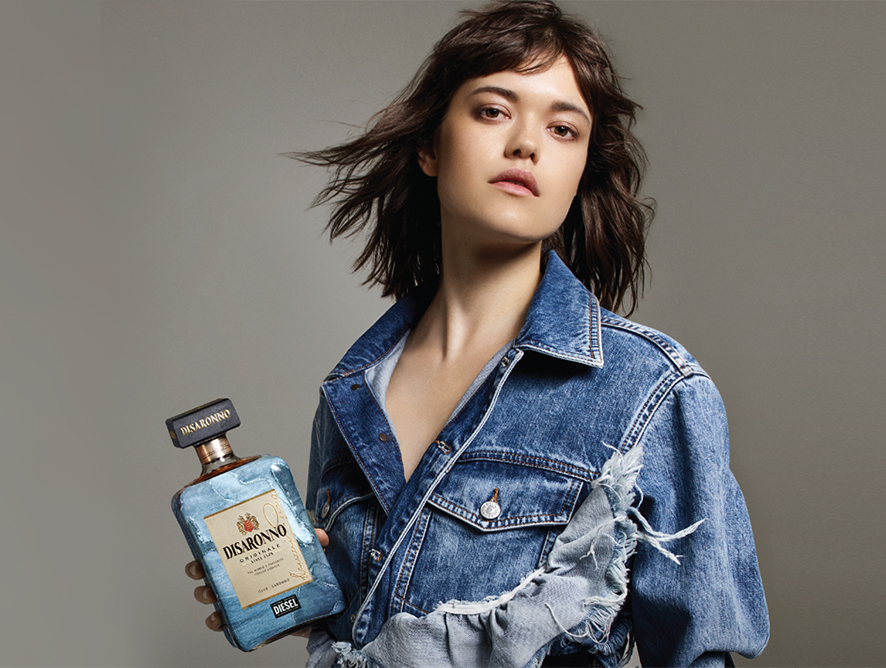 Disaronno wears Diesel Special Edition