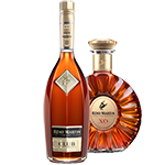 thumbnail of 2 coloured cognac bottles on a transparent background