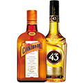 thumbnail of 2 coloured liqueur bottles on a transparent background