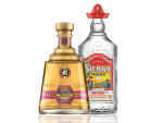 image of 2 coloured Sierra Tequila bottles on a transparent background