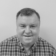 Ross Gerard NSW/ACT sales manager for Spirits Plarform black and white portrait