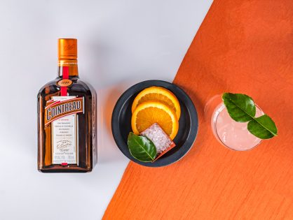 Cointreau Pink Margarita Cocktail Recipe