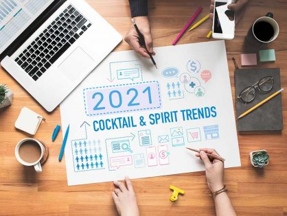 Four Cocktail & Spirit Trends of 2021 that could help your business